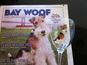 Rusty on Bay Woof Magazine